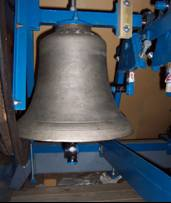 One of the St Christopher's bells