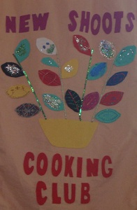 The New Shoots and Cooking Club banner